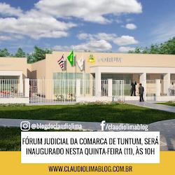 Fórum judicial da Comarca de Tuntum, será inaugurado hoje quinta-feira (11), às 10h