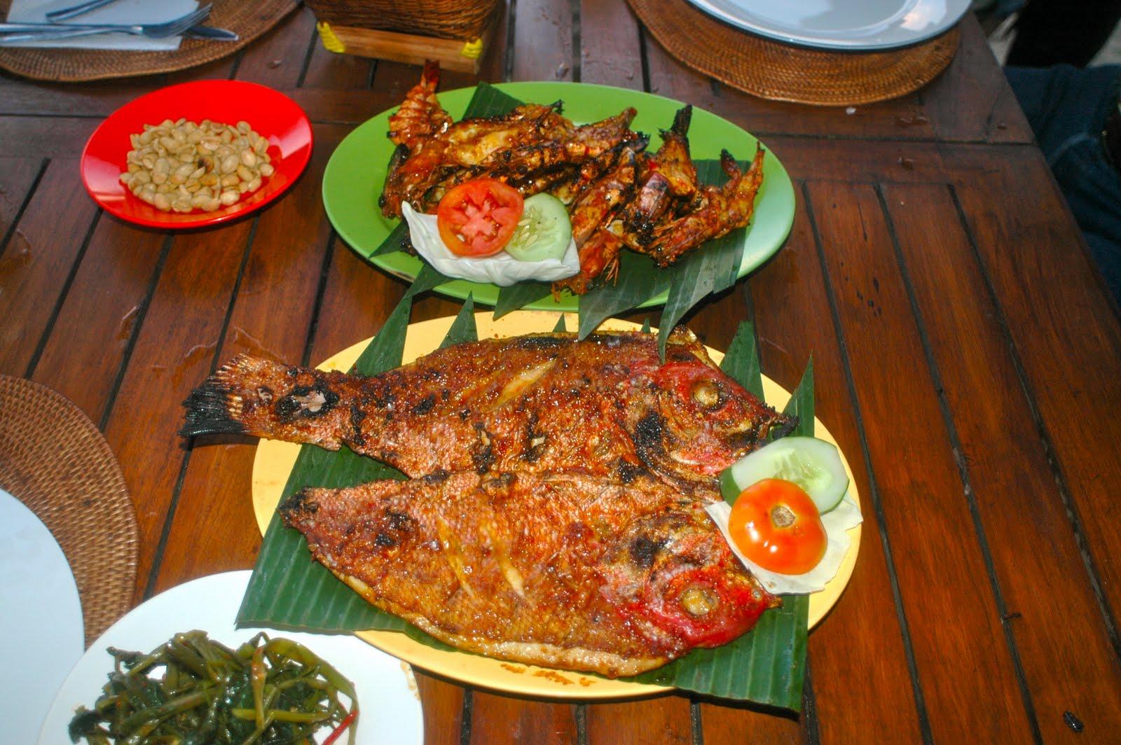 Foodtravelinsider: Jimbaran Bay, Seafood, Bali
