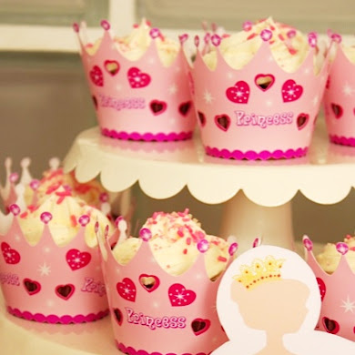 Pink Princess Ice Cream Birthday Party