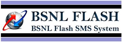 BSNL Flash SMS Alerts for Landline Broadband Services