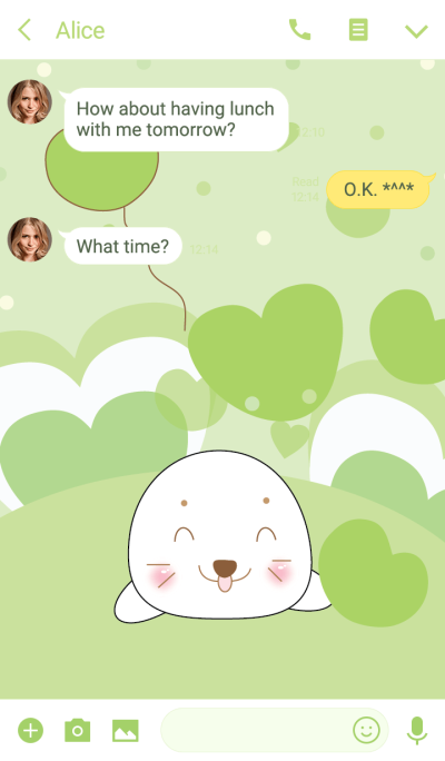 Cute seal theme