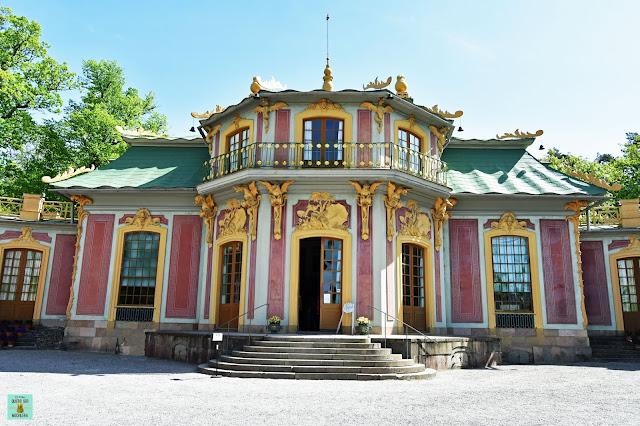 Pabellón chino del Drottningholm Palace, Estocolmo