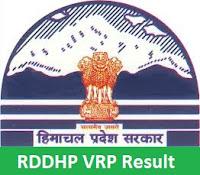 RDDHP VRP Result