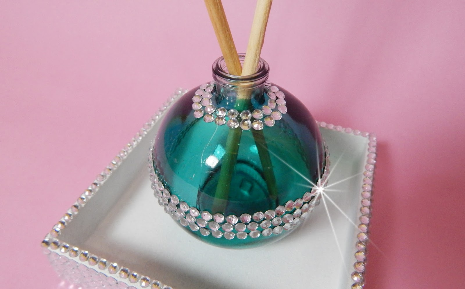 Adesivos De Parede Personalizados Infantil ~ Como reutilizar vidro de perfume e fazer kit aromatizador para casa D Mimos e Sonhos Ateli u00ea