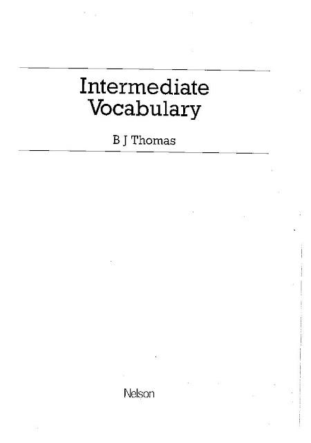Intermediate Vocabulary PDF Book