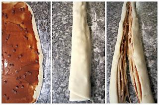 Brioche Tourbillon au Carambar et chocolat au lait