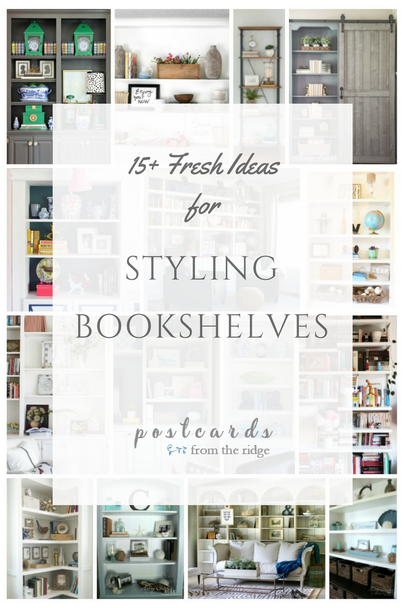 ideas for styling bookshelves - Styling Bookcases