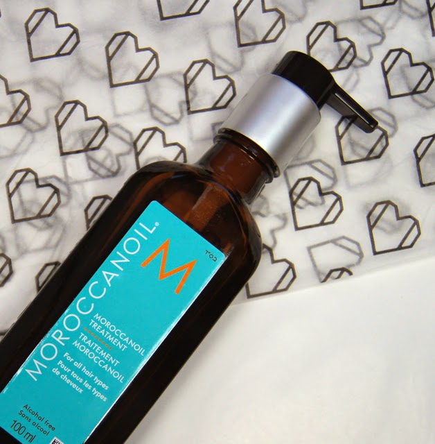 moroccanoil hair treatment oil original review