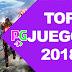Top de juegos más esperados de 2018 parte 1