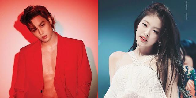 Hubungan Kai EXO dan Jennie BLACKPINK Dikonfirmasi Putus