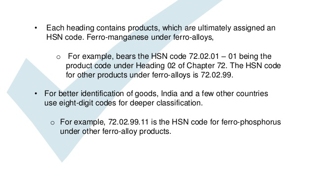 Need to Search HSN Code