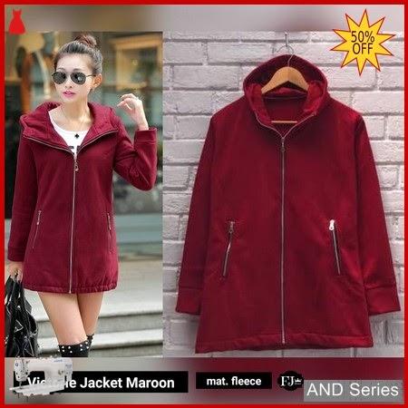 AND284 Jaket Wanita Victoria Jacket Merah Maroon BMGShop