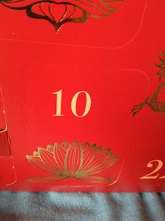 Calendario de adviento Rituals - Día 10