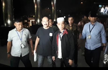 Dicokok KPK, Fredrich Yunadi Bungkam