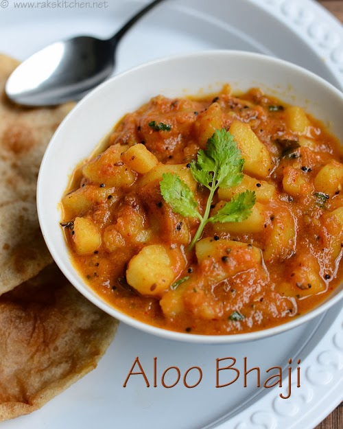 Aloo bhaji recipe no onion no garlic side dish for poori raks i always love the subjis they make in north india for roti its wholesome easy and healthy too without more oil and i wish i know more subjis that goes forumfinder Choice Image