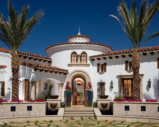 Desain Rumah Gaya Spanyol Minimalis Modern