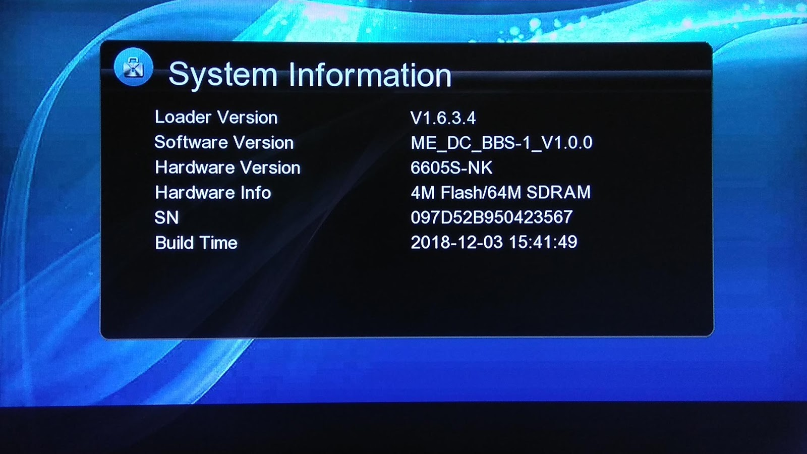 Download Firmware DC BBS-1 HD New Update