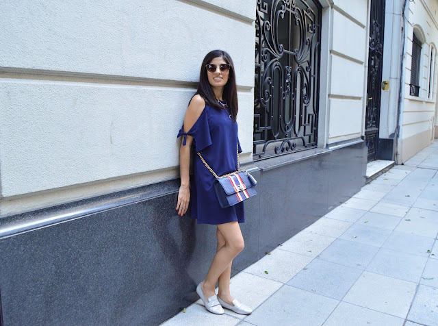 Gamiss Blue Dress