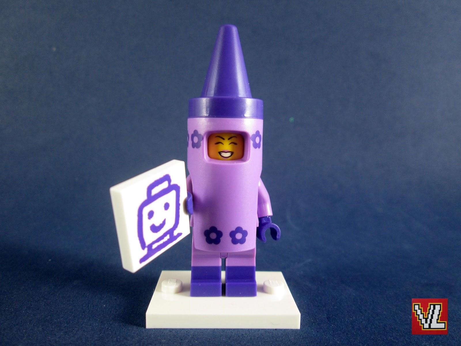 Lego The Lego Movie 2 Mini Figure Collection #5 Crayon Girl