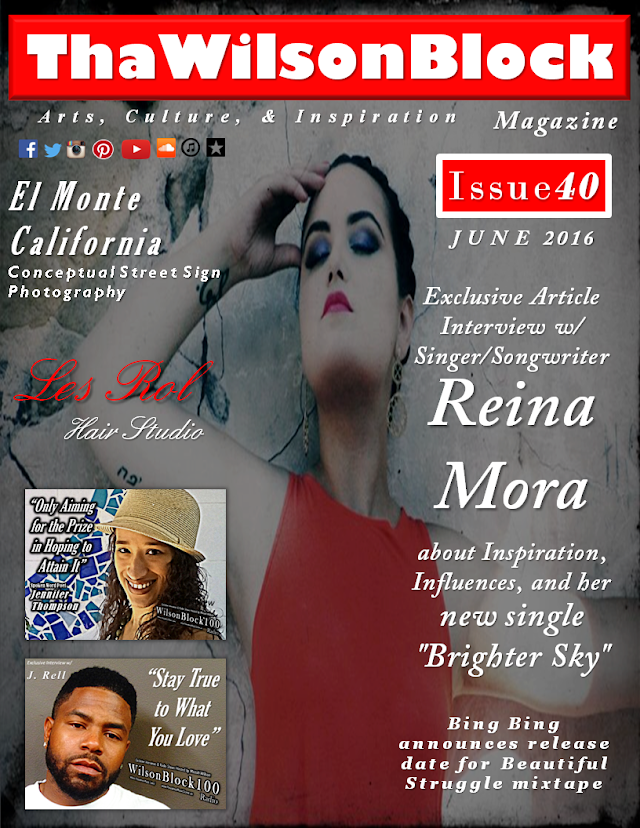 "ThaWilsonBlock Magazine Issue40 ""El Monte, California"" street sign photography"