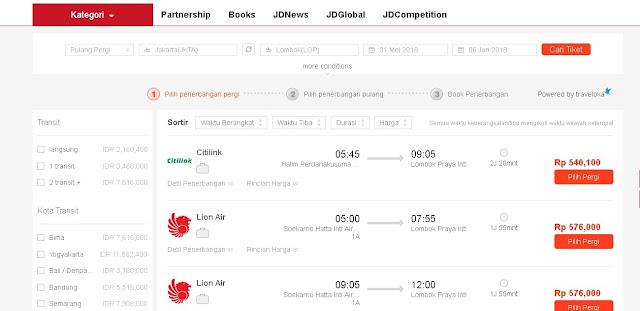Hunting Tiket Traveling Di JD.ID Liburan Impian Jadi Kenyataan