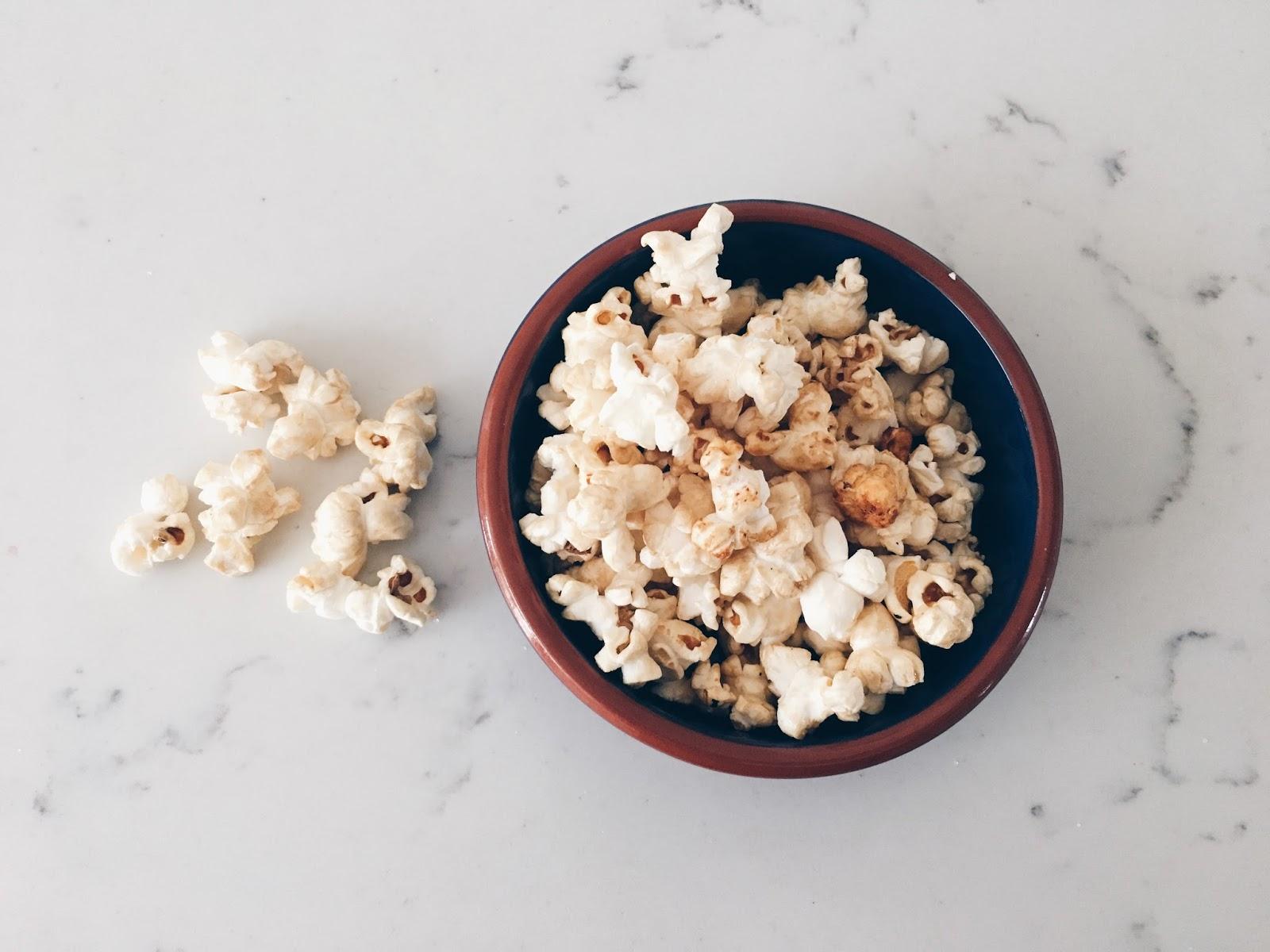 Popcorn - Top 5 healthy snack ideas for 2017