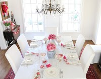Valentine's Day Entertaining and Decor