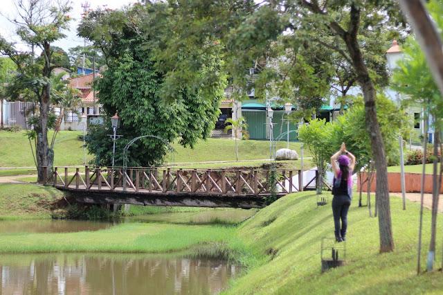 Lago Nossa Prainha, em Holambra, São Paulo.