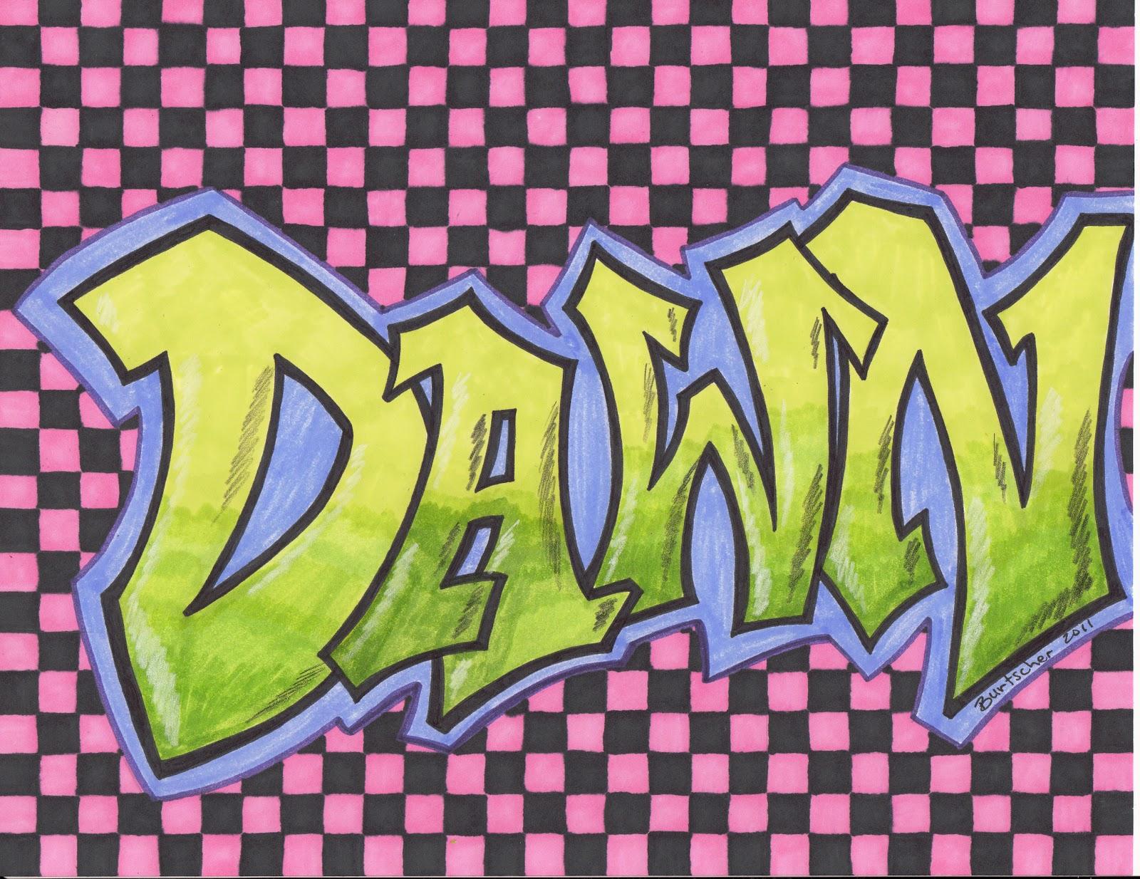 Name Art: New Graffiti Art
