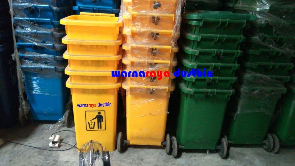 Warnaraya Dustbin Distributor Tempat Sampah Plastik Hdpe