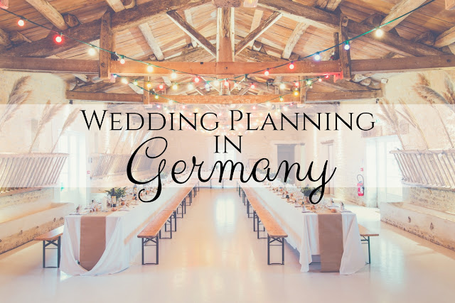 Planning a wedding in Germany