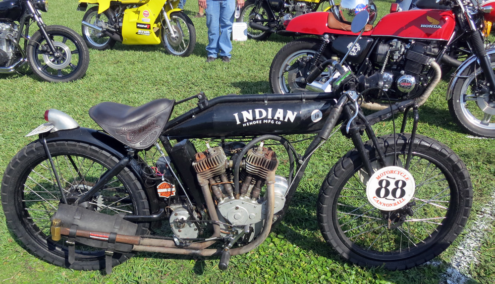 1916 Indian motorcycle.