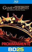 Game of thrones temporada 2 bd25