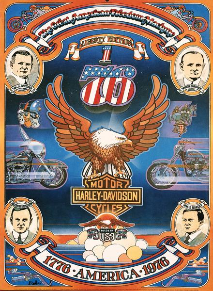 Harley Davidson Advertising: Harley-Davidson Advertising 1970's