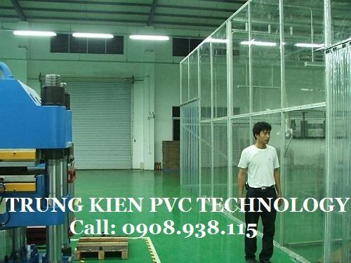 Vách ngăn nhựa PVC chống côn trùng Công ty TNHH Hưng Dụ Plastic
