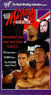 WWE / WWF Mayhem in Manchester 1998 - Event poster