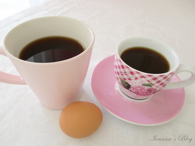 norwegian egg coffe and cups