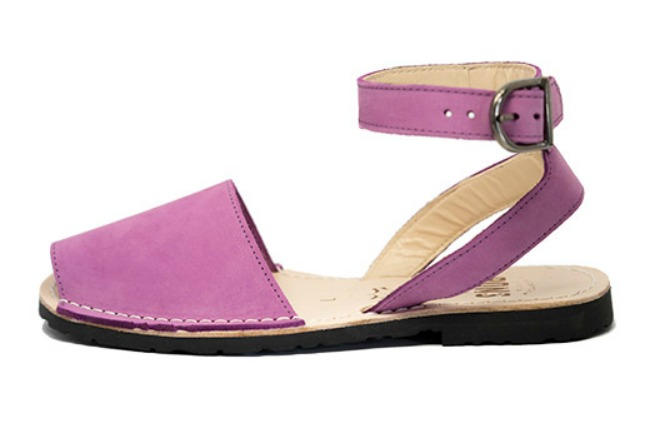 purple peep toe shoes for spring