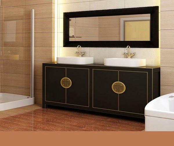 10 Ideas Of Double Sink Vanity Cabinets In Bathroom Interior
