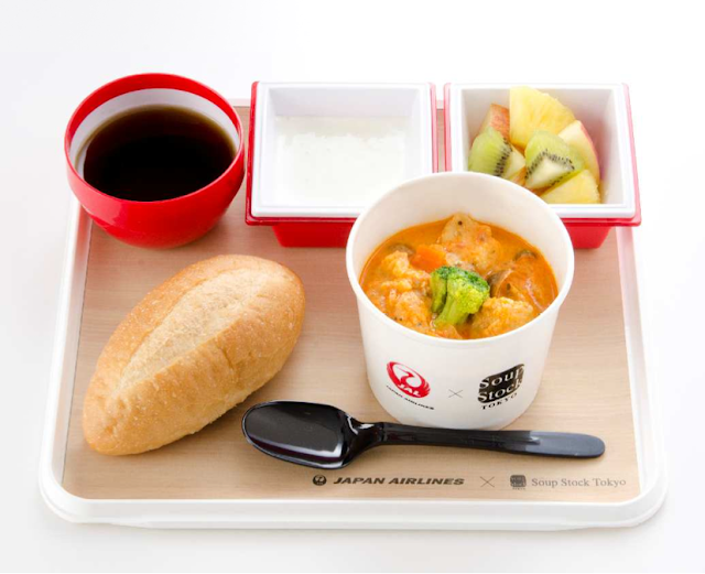 JAL collaborates with Soup Stock Tokyo to create a new breakfast menu for select international flights