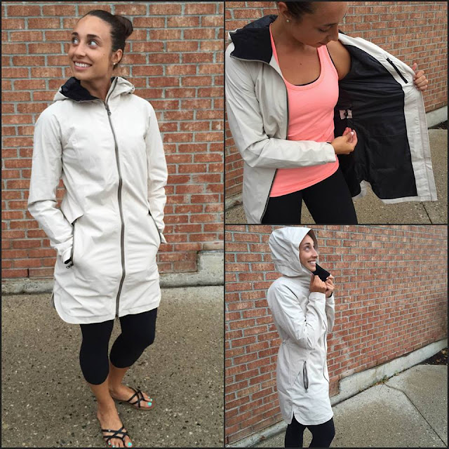 lululemon definitely-raining-jacket-cashew