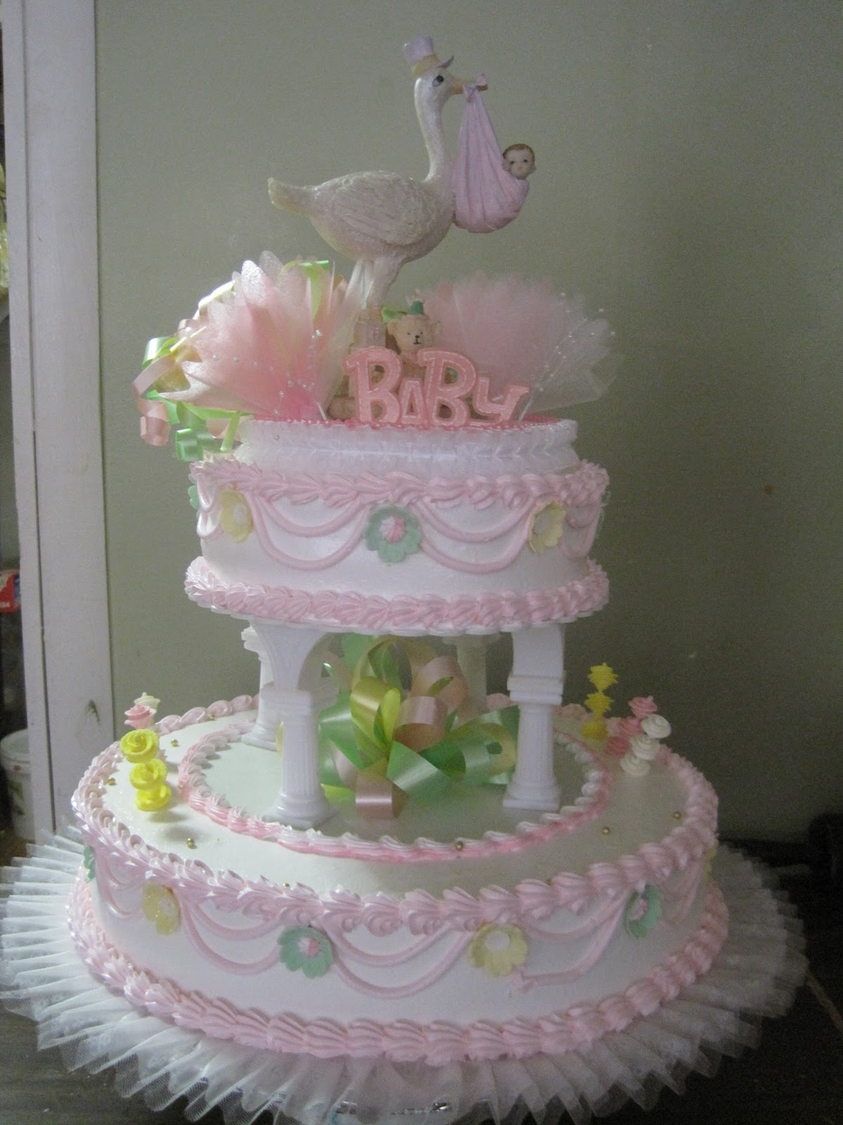 Dominican Baby Shower Cakes Nyc