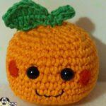 patron gratis naranja amigurumi