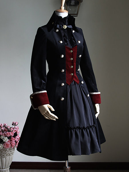 https://www.stylewe.com/product/velvet-long-sleeve-buttoned-slit-stand-collar-coat-79886.html
