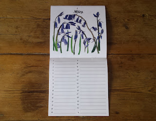 Birthday Calendar or Special Events Calendar by Alice Draws The Line May