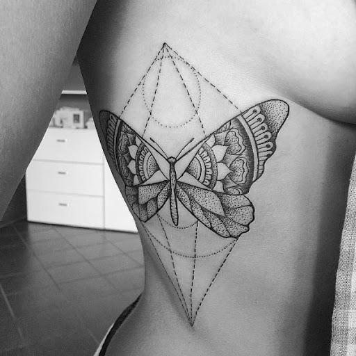 Este grande geométricas lado tat