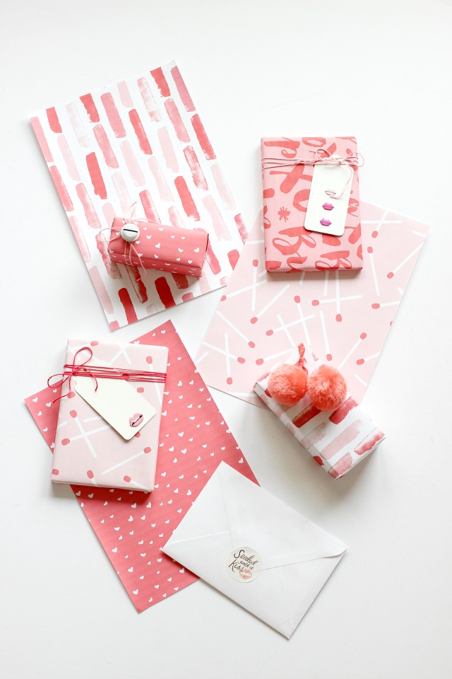 LAST MINUTE VALENTINE'S DAY GIFT WRAP.
