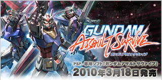 Link gundam assault survive PSP ISO Clubbit