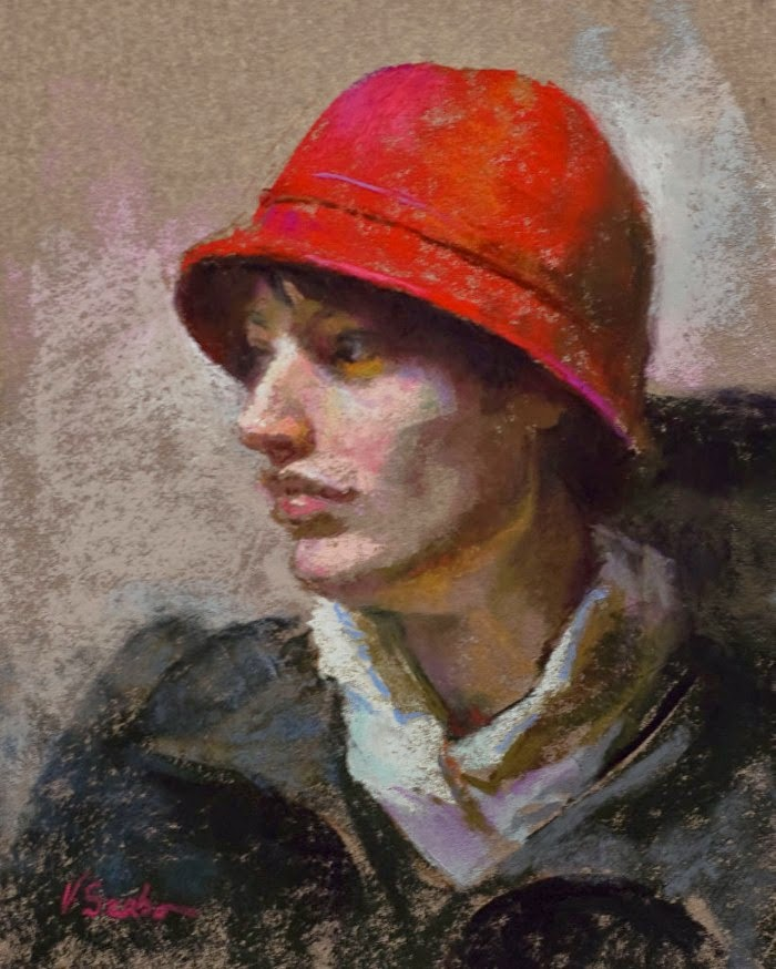 Картины пастелью. Vianna Szabo