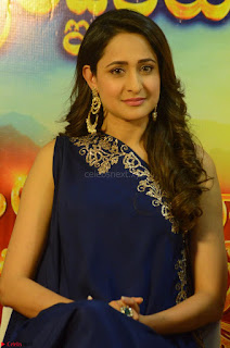 Pragya Jaiswal in beautiful Blue Gown Spicy Latest Pics February 2017 132.JPG